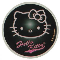 "Наклейка ""Hello Kitty"", цвет: черный"